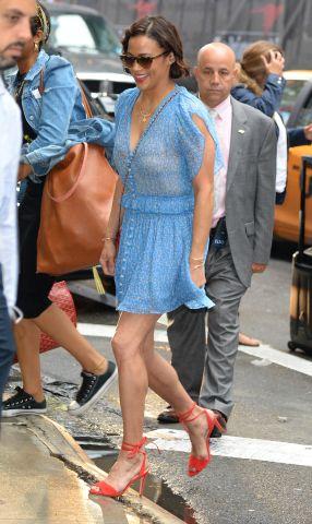 Celebrity Sightings in New York City - July 24, 2017