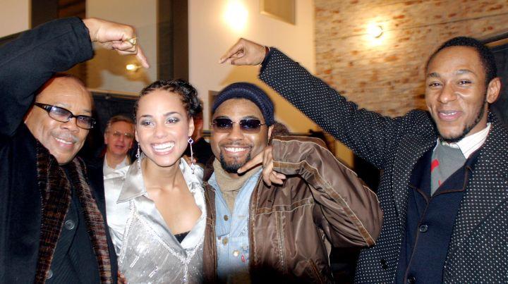 Alicia Keys Album Release Party at Industria in New York City, 2003