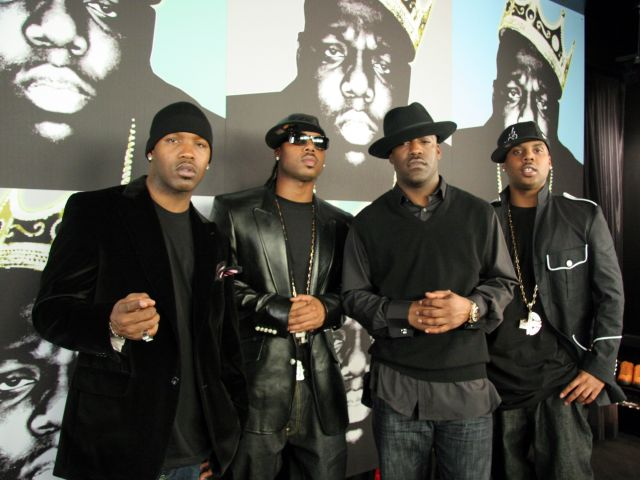 Notorious B.I.G. Nasty Girl: Part 2 Music Video Shoot Featuring Diddy, Nelly and Jagged Edge - November 17, 2005