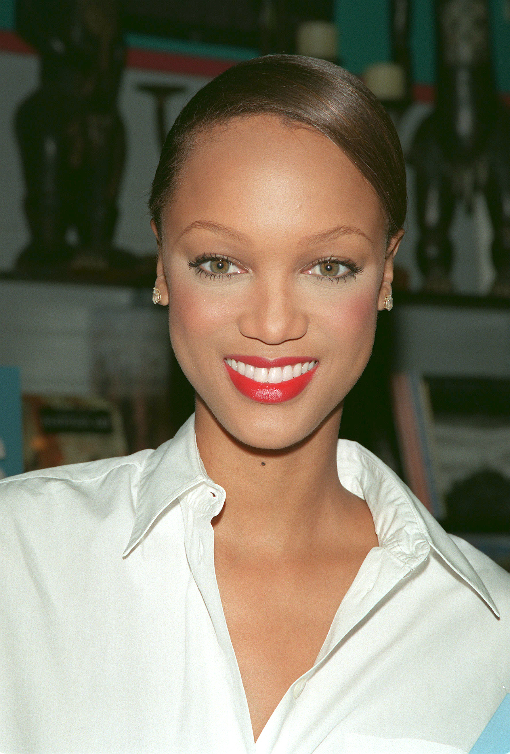 TYRA BANKS PROMOTES HER BOOK IN LOS ANGELES
