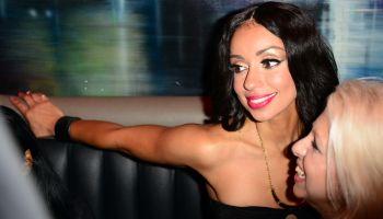 Mya Performs At G5 Nightclub