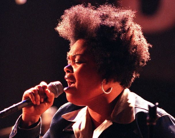 JILL SCOTT, new R&B singer–songwriter appearing at the House of Blues, West Hollywood, Sunday, Decem