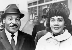 Dr. and Mrs. Martin Luther King Portrait