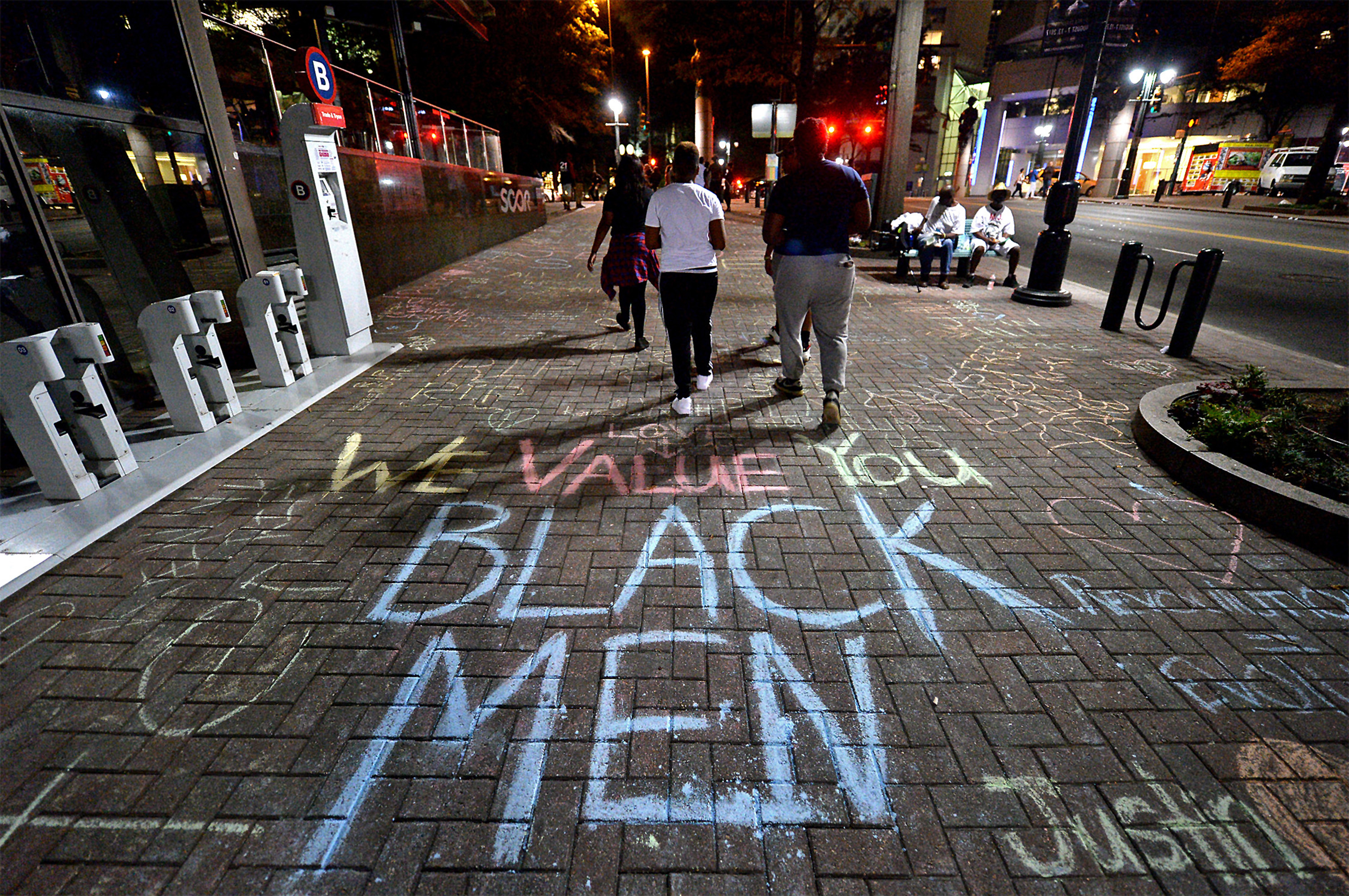 Charlotte protesters