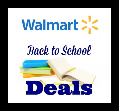 Walmart Tax Free Back to School Event