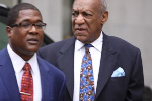 Bill Cosby arrives at the Montgomery County Court for sentencing in Rockville