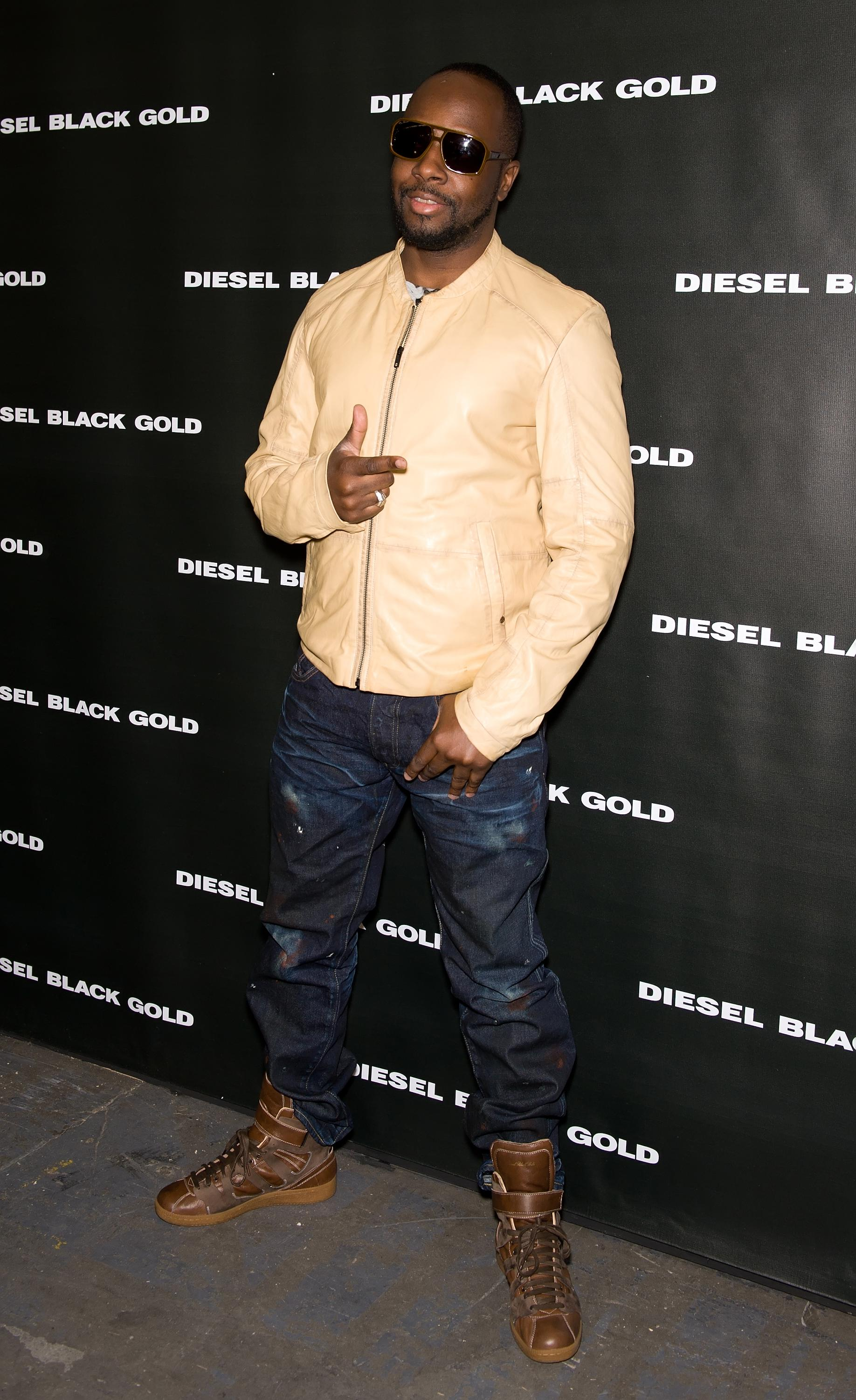Diesel Black Gold - Front Row & Backstage - Fall 2011 Mercedes-Benz Fashion Week