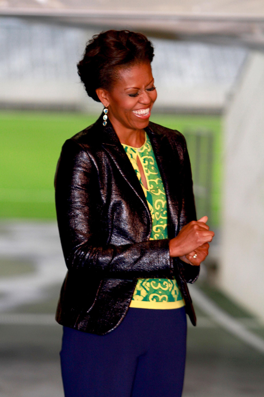Michelle Obama Visits Cape Town