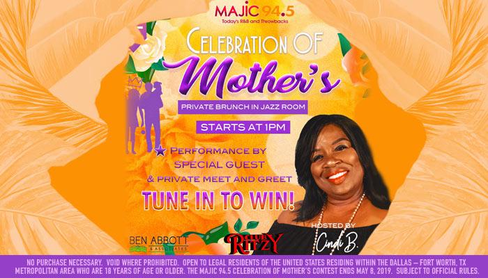 Majic 94.5 Celebration of Mother's_RD Dallas KZMJ_April 2019