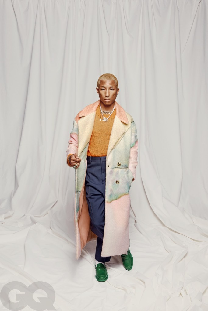 PHARRELL WILLIAMS GQ NEW MASCULINITY ISSUE