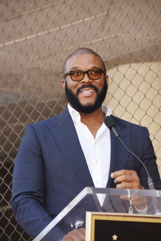 Tyler Perry honored with a Star