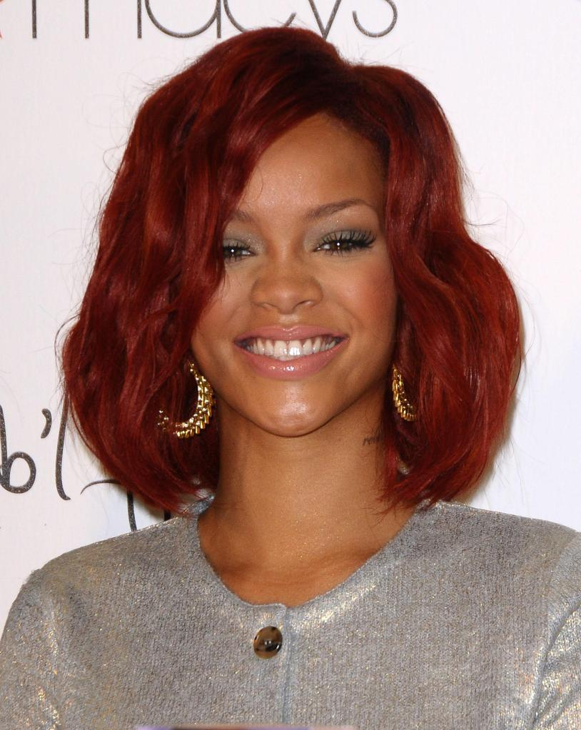 Rihanna Celebrates The Launch Of Her First Fragrance 'Reb'l Fleur' At Macy's