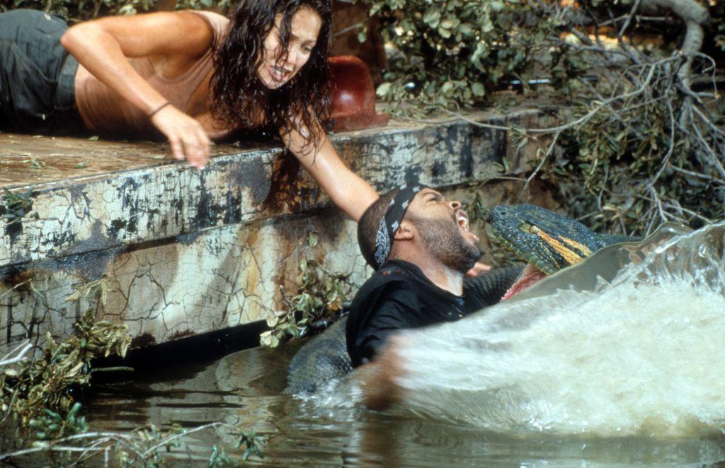 Jennifer Lopez And Ice Cube In 'Anaconda'
