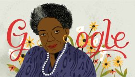 Maya Angelou Google Doodle