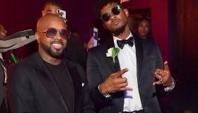 Jermaine Dupri Party For Usher producer Keith Thomas