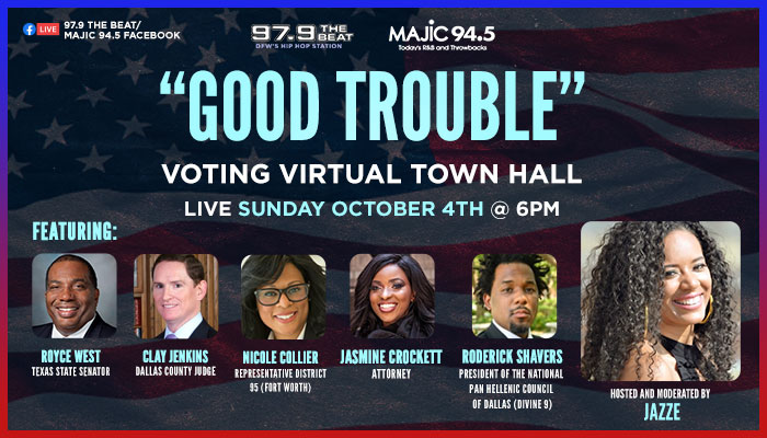 Good Trouble Voting Virtual Town Hall