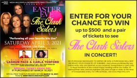 Clark Sister Easter Eve Giveaway