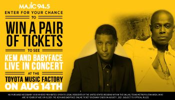 KEM and Babyface Online Ticket Giveaway