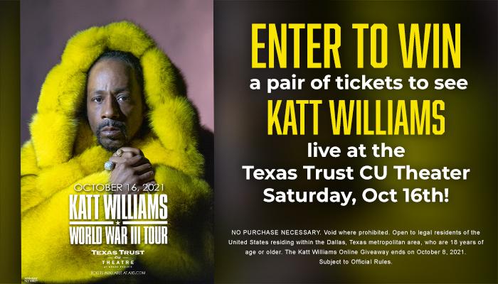 The Katt Williams Online Ticket Giveaway contest